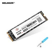WELMADE M2 SSD NVME 256gb 128gb 512gb 1tb 2tb M 2 PCIE 256gb wewnętrzny dysk półprzewodnikowy do komputera M 2 SSD PCIE SSD 256GB tanie tanio Pci express M 2 2280 CN (pochodzenie) SMI2263XT Read Max speed Up to 2400MB s Write Max speed up to 1700MB s Pci-e Pulpit