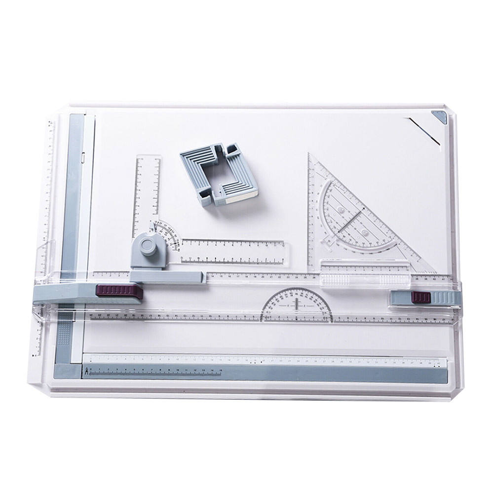 Drawing Board A3 Drafting Tables with Parallel Motion Angle Measuring System _WK|Protractors| |  - title=