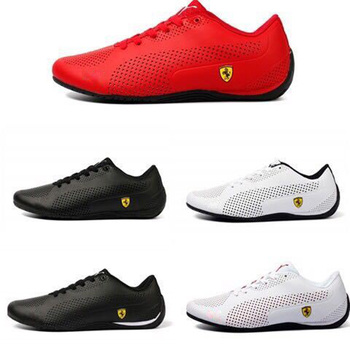 2020 Summer Classic PUMAS Men's Ferraring Drift Cat 5 Sneaker First Layer Leather Racing Shoes Comfortable Sports Shoes Man