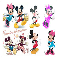 5D DIY Pintura Diamante do Ponto da Cruz Definir Nova Praça Cheia de Diamantes Bordados Disney Mickey Minnie Mouse Strass Mosaico Presente(China)