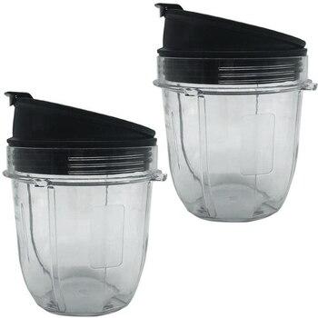 Juicer Accessories Cup Lid for Ninja Juicer for Nutri Ninja 12Oz CUP 12 Ounce Blender Jar 2 Pack of 12 Oz for Nutri Ninja Cups