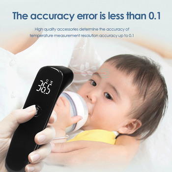 To9LED digital infrared non-contact thermometer, forehead ear accurate measurement, hand-held adult children's thermometer