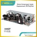 1-3/4HP с воздушным охлаждением конденсаторный агрегат с роторным компрессором построен профессиональными расчетами и производством