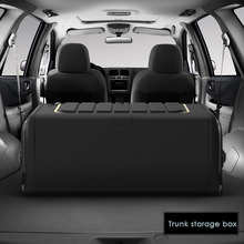 Auto Accessories Folding Storage Box Tail Box Items Organizer Car Trunk Storage Box Car Storage Box Large Capacity