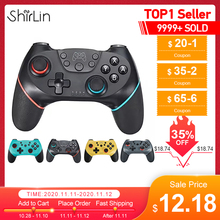 2020 Bluetooth Pro Gamepad voor Nintendo Switch Console Video Game Gaming Controller Controle USB Joystick N Switch NS Switch Pro NS Wireless Mini Gamepad met 6 assige handgreep