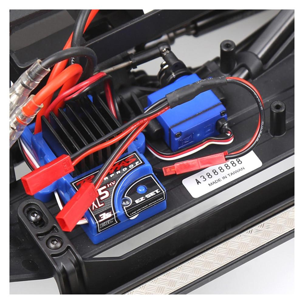 RC Car ESC TRX-4 And Cable JST Female Connector For RC Car ESC TRX-4 Lights, Winch, Cooling Fan Can Be Connected To TRX4 ESC