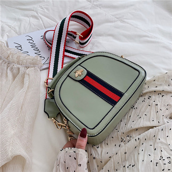 Summer New Arrival Bag Women's 2019 New Style Fashion Crossbody Bag Korean-style Versatile Broadband Fashion Summer INS