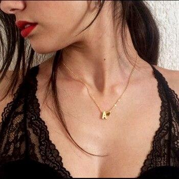 Collar de plata de primera ley con nombre para mujer, gargantilla, plata...