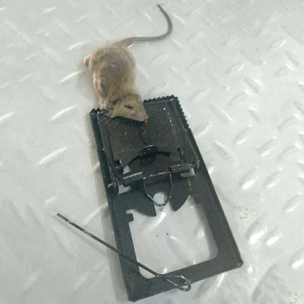 Ménage réutilisable sensible Rat souris piège receveur souris appât Snap ressort pince pince attraper souris piège à souris rongeur lutte antiparasitaire