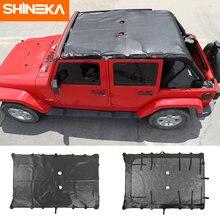 Козырек от солнца shineka аксессуары для jeep wrangler jk кожаный