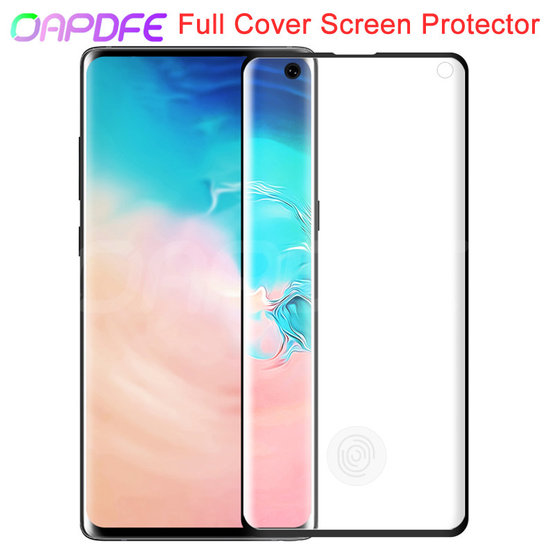 100D Full Tempered Glass For <font><b>Samsung</b></font> Galaxy S10 <font><b>S9</b></font> S8 <font><b>Plus</b></font> S10e S7 Edge A6 A8 <font><b>Plus</b></font> 2018 <font><b>Screen</b></font> Protector <font><b>Protective</b></font> Glass Film image