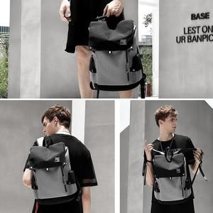 Image 4 - Toevallige rugzak mannen rugzak mode trend jeugd mannen reizen mode college student rugzak eenvoudige computer tas mochila