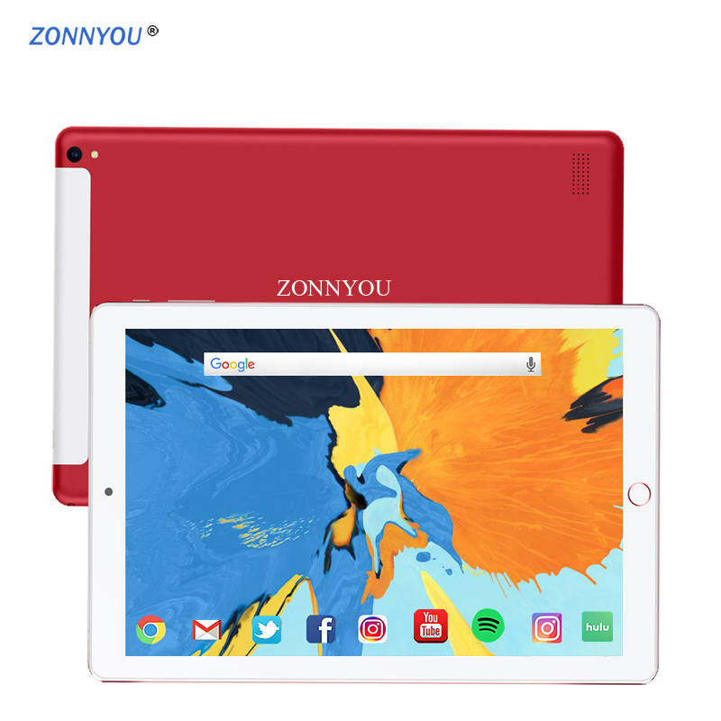 2019 New10 1 inch Tablet PC 2 5D Steel Screen Android 8 1 3G Phone Call