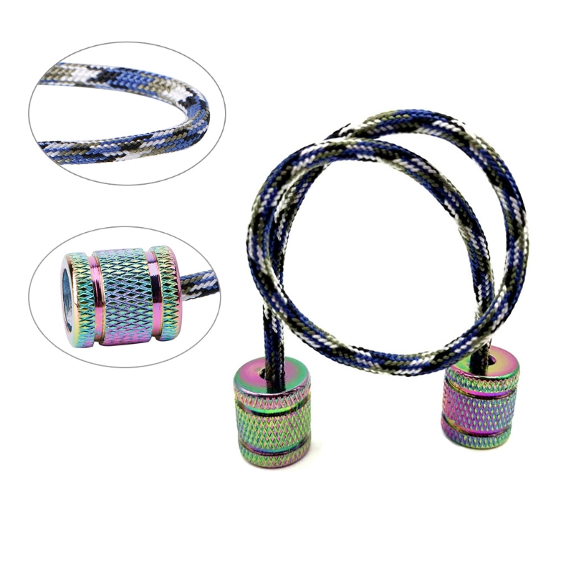 Aluminum Alloy Begleri Fidget Toy Worry Beads Finger Skill Paracord Stress Toys