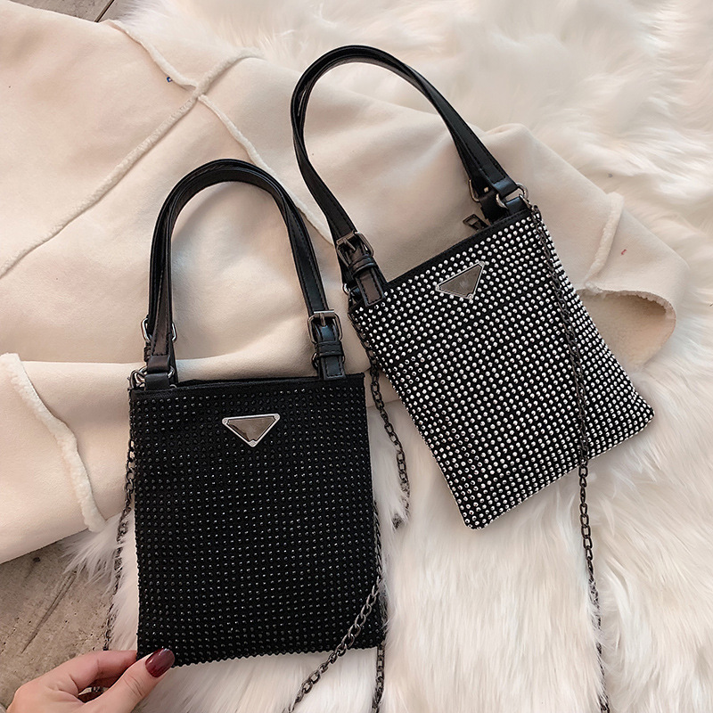 Messenger Pack Vintage Totes Luxury Handbags Women Bags Designer Diamond Small Shoulder Bag For Women Crossbody Bag Bolso Mujer