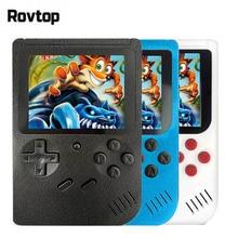 רטרו נייד מיני כף יד משחק קונסולת 8 קצת 3.0 אינץ צבע LCD ילדים צבע משחק נגן מובנה 400 משחקים 168 משחקים