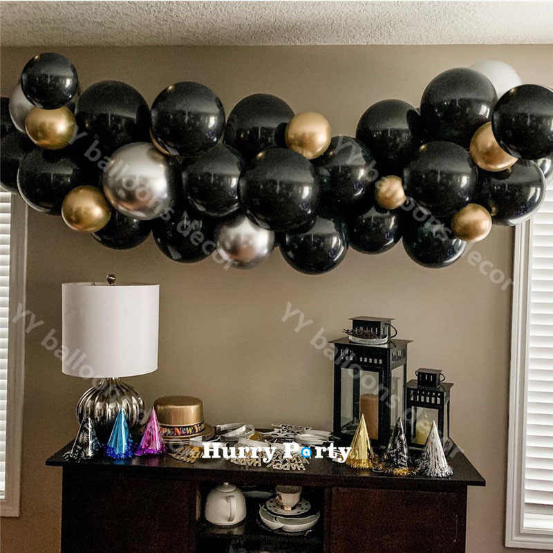 Black Gold And Silver Decorations  from ae01.alicdn.com