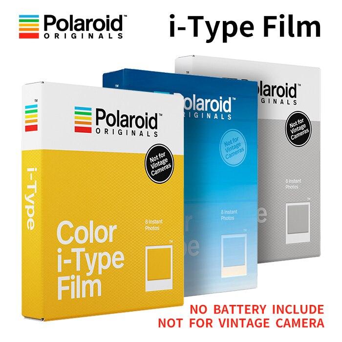 New Genuine Polaroid Originals Instant I-type Film Color And Black White For Onestep2VF Instax Camera