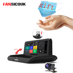 Автомобильный видеорегистратор 4G ADAS, Android, FHD 1080P, Wi-Fi, GPS, навигатор, двойной объектив, видеорегистратор, дистанционный монитор, FM камера задне...