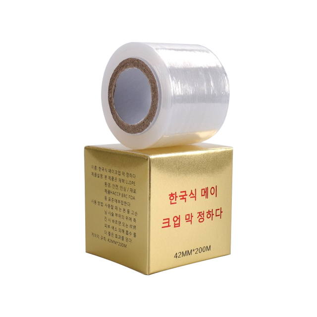 1 box Microblading Clear Plastic Wrap Preservative Film for Permanent Makeup Tattoo Eyebrow Tattoo Accessories