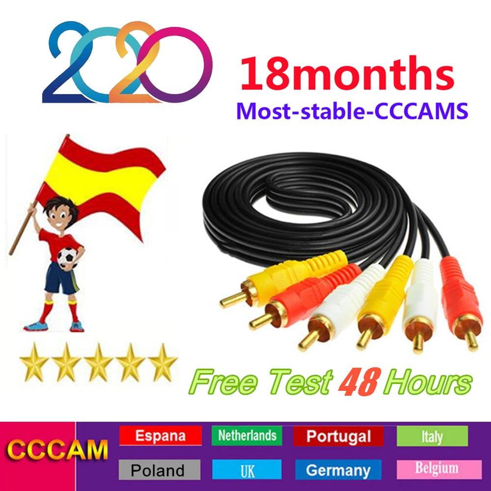 Best 2020 Egygold Stable Europe CCCAM Spain For 1 Year GTmedia V8 OScam Portugal Espa A Europe Cline Portugal Servers CCam Lines