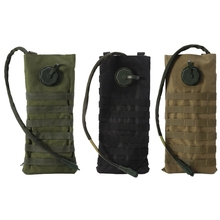 2.5L Molle Military Hydration Backpack Cycling Hiking Camping Riding Water Bag