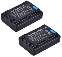 Batterij Voor Panasonic HC-V110  HC-V130  HC-V160  HC-V160K  HC-V201  HC-V201K  HC-V210  HC-V210K  HC-V210M Full Hd Camcorder