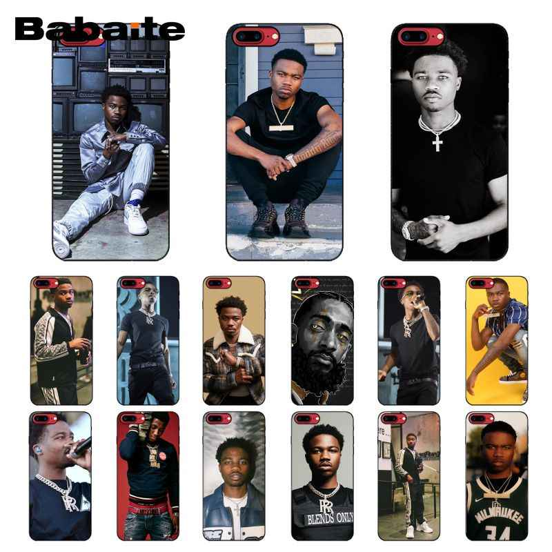 Babaite roddy rich  Phone Case for iPhone XR 11 Pro MaxXS MAX  8 7 6 6S Plus X 5 5S SE