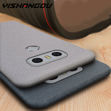 Case for LG G6 G7 G5 G4 V30 V40 Q8 G8 ThinQ K40 L50 K12 ThinQ Q60 Anti Fingerprint Case Soft Matte Ultra Thin TPU Cover(China)