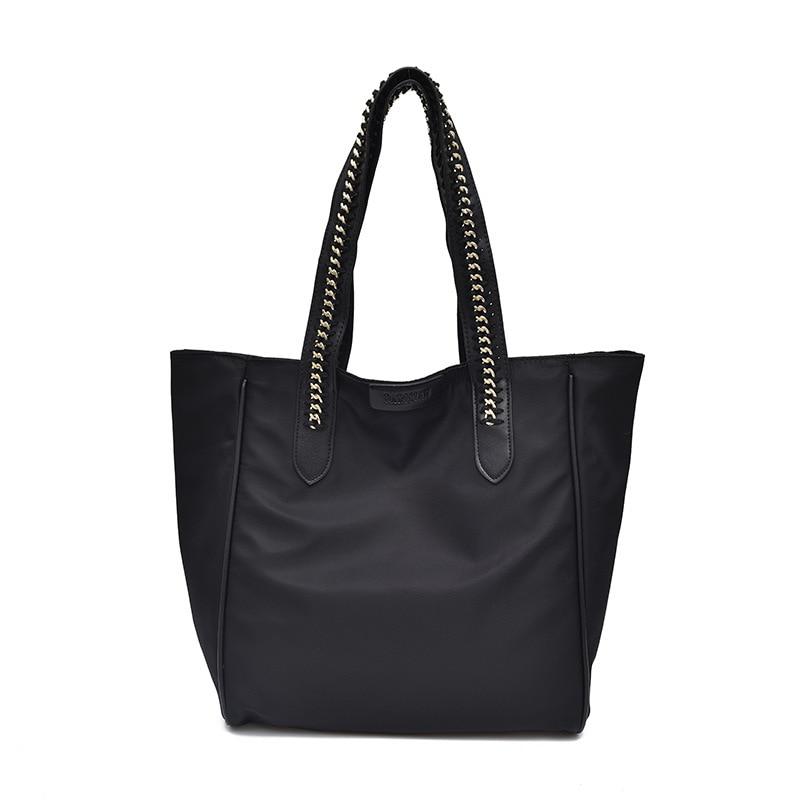 Large-Capacity Bag Women's  New Korean-Style Fashionable Nylon Handbag Fashion Oxford Cloth Shoulder Bag
