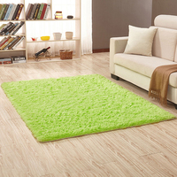 Fur Rug Solid Color Furry Carpet Soft Carpets In Room Soft Plush CT49001