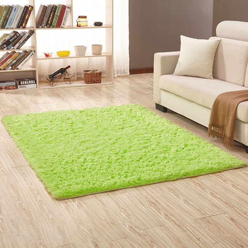 Fur Rug Solid Color Furry Carpet Soft Carpets In Room Soft Plush CT49001
