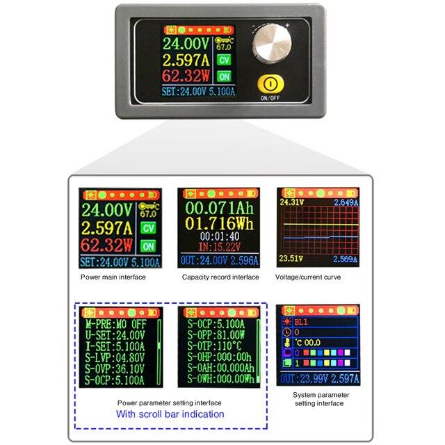 DC 9V 12V 24V 36V 5A alimentation Portable 6-36V à 0.6-36V universel tension Variable courant affichage numérique réglable
