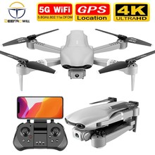 2020 Nieuwe F3 Drone Gps 4K 5G Wifi Live Video Fpv Quadrotor Vlucht 25 Minuten Rc Afstand 500M Drone Hd Groothoek Dual Camera(China)