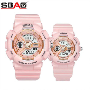 SBAO Brand Couple Sports Watch