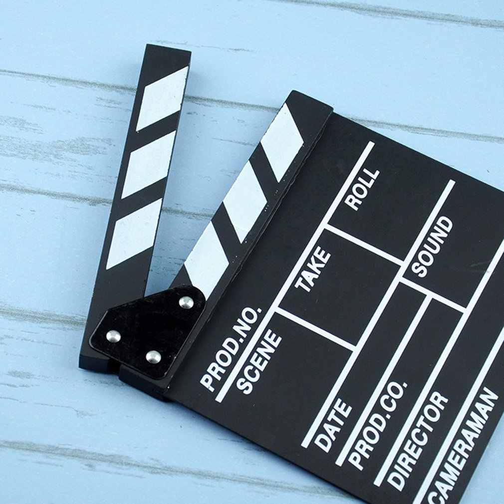مدير فيديو الاكريليك اللوح التلفزيون فيلم فيلم كلابر مجلس لائحة مع العصي اللون 20*20 سنتيمتر