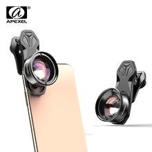 Apexel hd 光カメラ電話レンズ 100 ミリメートルマクロレンズスーパーマクロレンズため iphonex xs 最大サムスン s9 すべてスマートフォン