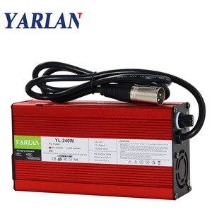 50,4 V 4A зарядное устройство для 44,4 V литиевая батарея электрический велосипед электрический инструмент