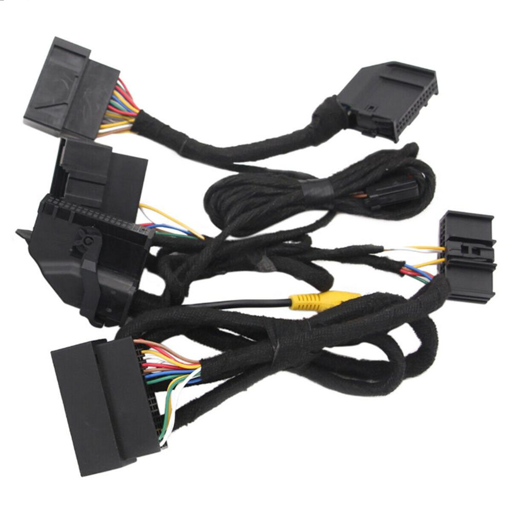 """4 """"a 8"""" arnês de potência de conversão pnp para ford-sincronização do carro 1 sincronização 2 para sincronizar 3 atualização chicote de fios"""