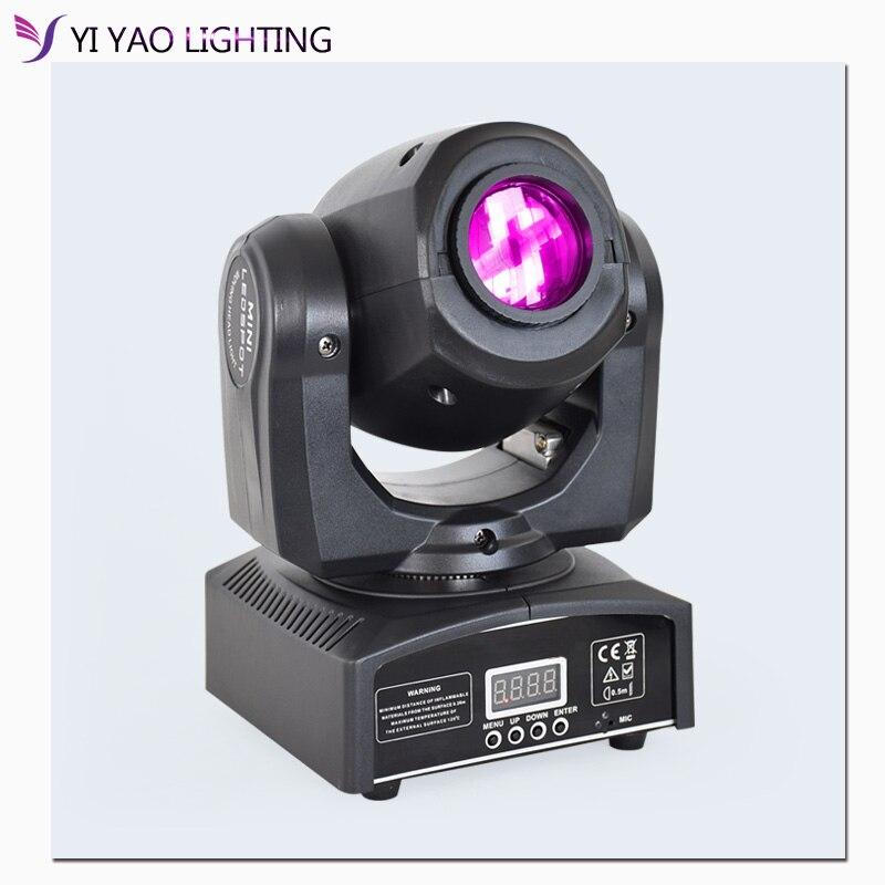 Led Dmx 512 Mini Spot Moving Head Light With Gobos Plate&Color Plate 10W High Brightness LED DJ Spot Light Disco Light