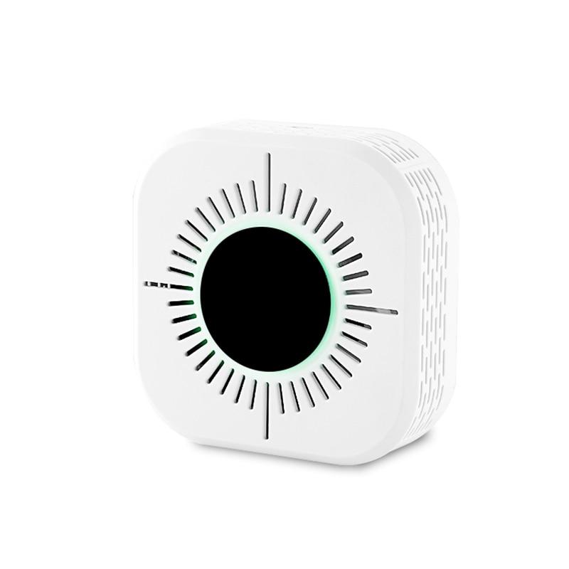 ABKT-2 In 1 CO Smoke & Carbon Monoxide Detector Alarm For Smart Home Alarm Security 433MHz Ring Alarm System
