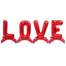 32 дюйма День Святого Валентина свадебные украшения Воздушные шары из фольги с надписью «любовь» надувные шары баллоны с гелием день рождения принадлежности