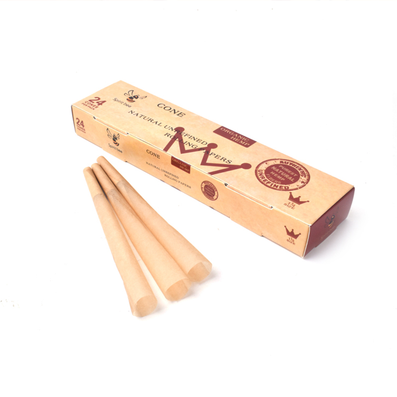 110mm King Size Pre-Rolled Cones Weed Rolling Papers Empty Long Cigarette Paper Herb Tobacco Smoking Accessories 1