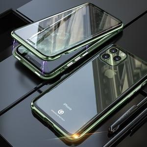 Image 3 - Original BOBYT Metall Fall Für Apple iPhone 11 Pro Max Klar Gehärtetem Glas & Aluminium Stoßstange Fall Abdeckung Für iPhone 11/ Pro/ Max