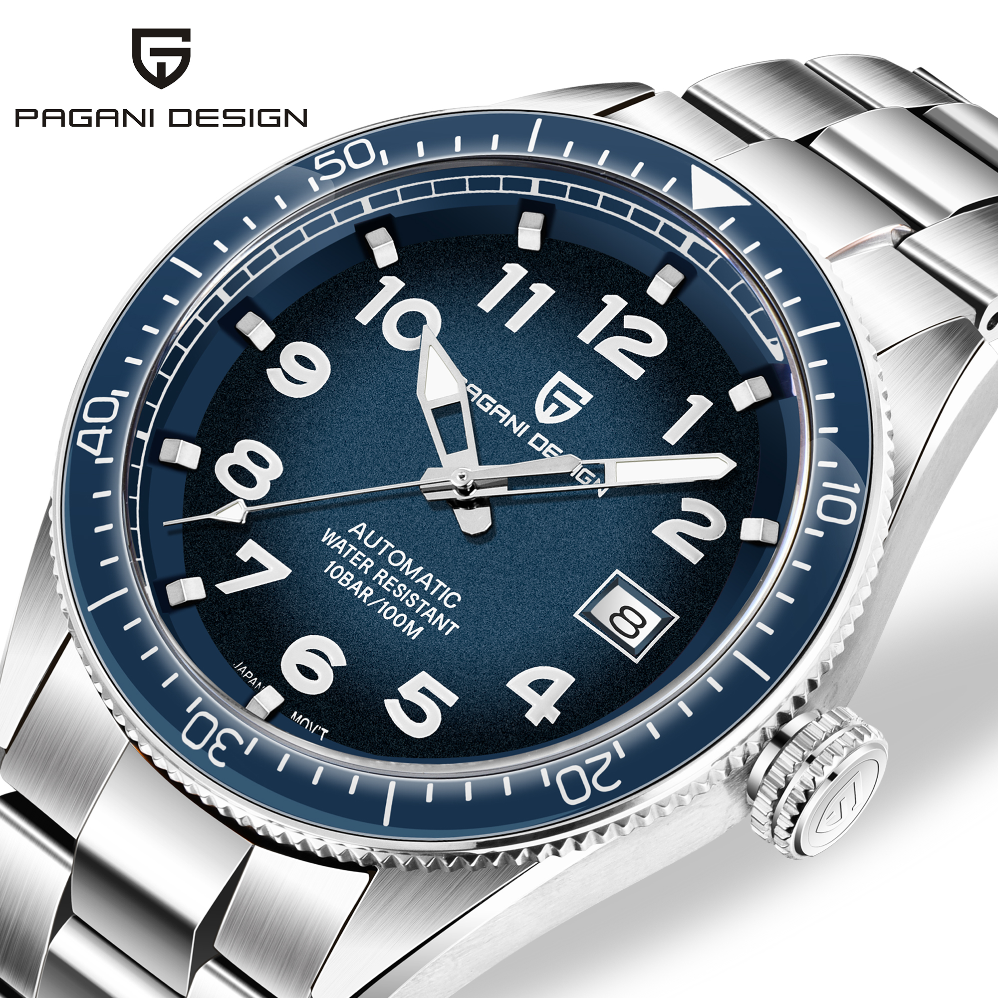 Waterproof Watch Mechanical-Watch Business Pagani-Design Men Automatic Luxury Brand Relojes title=
