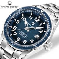 PAGANI DESIGN zegarki męskie marki luksusowy zegarek na rękę automatyczny zegarek mechaniczny mężczyźni wodoodporny zegarek biznesowy Relojes Hombre 2019
