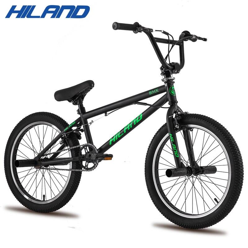 Hiland 10 Màu Sắc & Series 20 ''Xe Đạp BMX Freestyle Thép Xe Đạp Xe Đạp Đôi Kẹp Phanh Phanh Chương Trình Xe Đạp Diễn Viên Đóng Thế Nhào Lộn xe Đạp title=