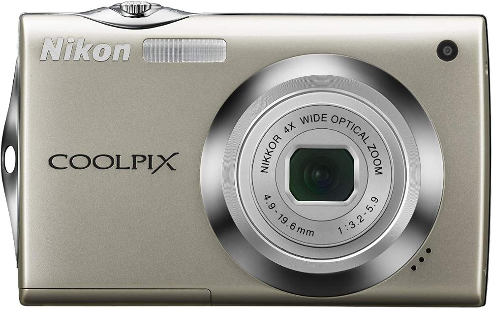 USED Nikon Coolpix S4000 12 MP Digital Camera <font><b>with</b></font> 4x Optical Vibration Reduction (VR) Zoom and 3.0-<font><b>Inch</b></font> <font><b>Touch</b></font>-Panel <font><b>LCD</b></font> image