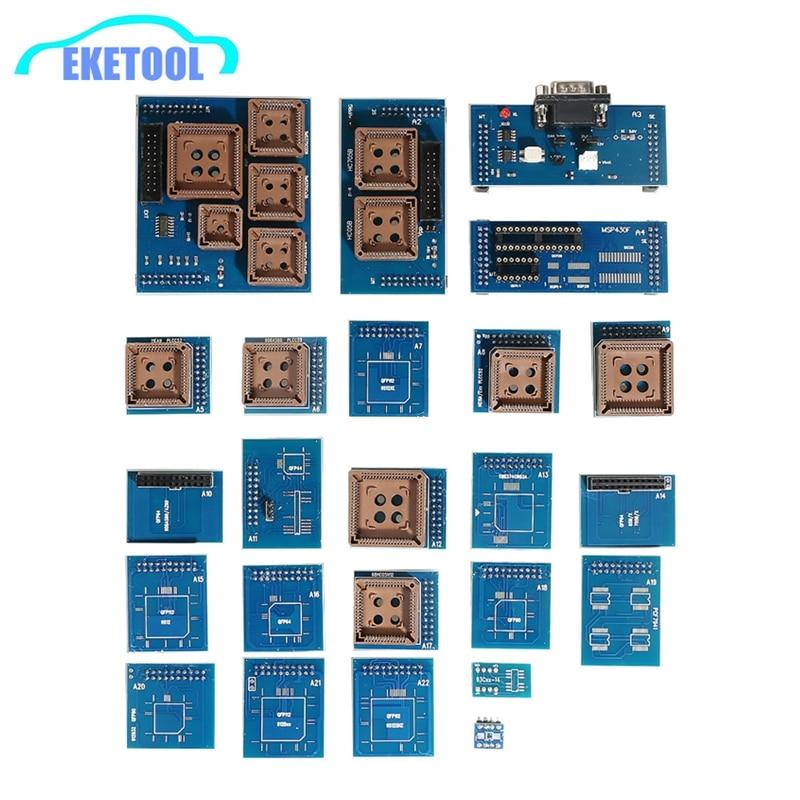 24pcs Full Adapters Works For Orange 5 Programming Device Full Set Works Orange5 Professional Programming Device 24 Adaptors