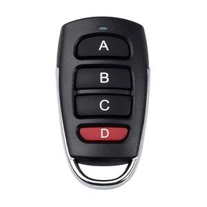 Image 2 - חדש 433mhz אוניברסלי רכב שלט רחוק מפתח חכם חשמלי מוסך דלת החלפת שיבוט Cloner להעתיק מרחוק